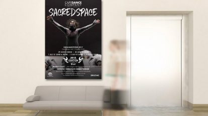 Cape Dance Company – Sacred Space Poster